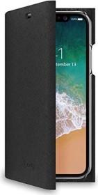 Celly Shell für Apple iPhone X/Xs schwarz (SHELL900BK)