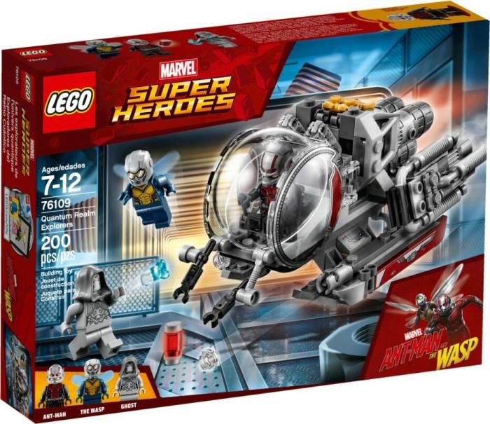 LEGO Marvel Super Heroes Play Set - Quantum Realm Explorers (76109)