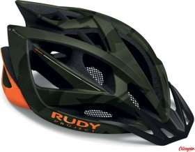Rudy Project Airstorm MTB Helm olive green/orange camo matte (HL540141)