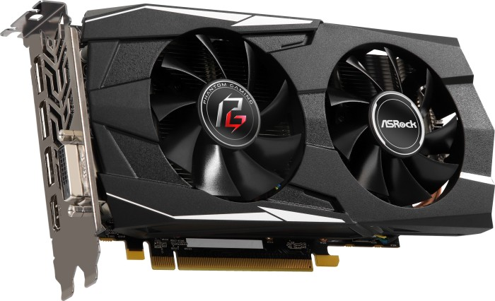 ASRock phantom Gaming D Radeon RX 580 8G OC, 8GB GDDR5, DVI, HDMI, 3x DP  (90-GA0M00-00UANF)