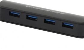 Conceptronic USB-Hub, 4x USB-A 3.0, USB-A 3.0 [Stecker] (C4PUSB3)