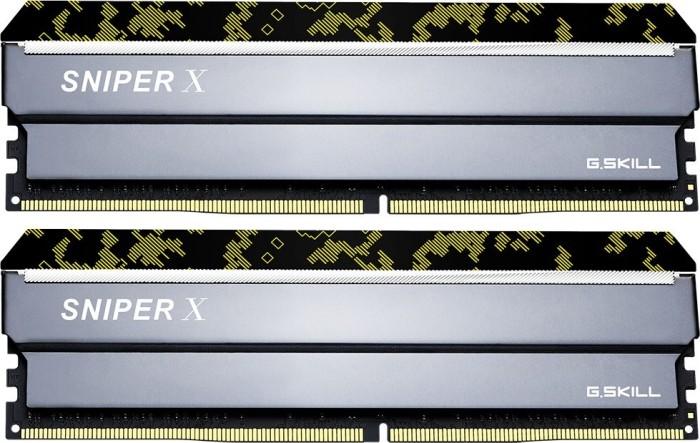 G.Skill SniperX Digital Camouflage DIMM Kit 32GB, DDR4-3600, CL19-20-20-40 (F4-3600C19D-32GSXKB)