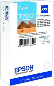 Epson Tinte T7012 cyan extra hohe Kapazität (C13T70124010)