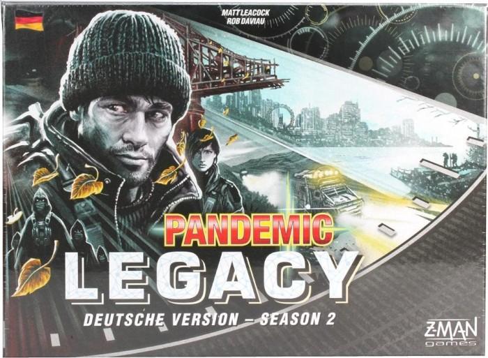 Z-Man Games Pandemic Legacy Season 2 Schwarze Edition