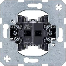 Berker Jalousie-Serienschalter 1-polig Jalousiesteuerung (303520)