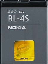 Nokia BL-4S rechargeable battery (02704L1)