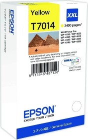 Epson Tinte T7014 gelb extra hohe Kapazität (C13T70144010)