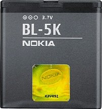 Nokia BL-5K rechargeable battery (02709Z0)