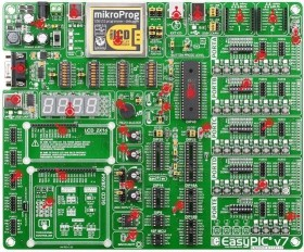 MikroElektronika EasyPIC v7 (MIKROE-798)
