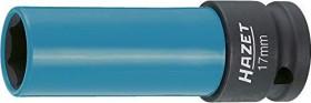 """Hazet 903SLG-17 Außensechskant Stecknuss 1/2"""" 17x85mm, 1er-Pack"""