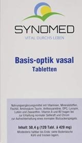 Synomed Basis-optik-vasal Tabletten, 120 Stück
