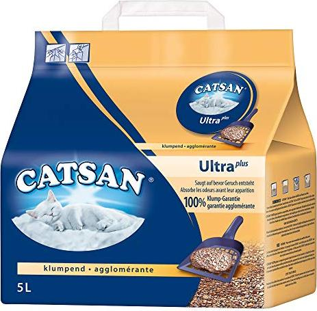 Catsan Ultra Katzenstreu 5l -- via Amazon Partnerprogramm