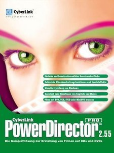 CyberLink: Power Director Professional 2.55 (PC) (ECD553004K)