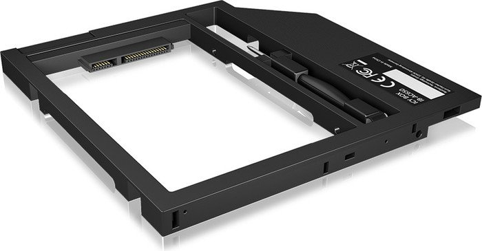 """RaidSonic Icy Box IB-AC649 ODD to HDD/SSD 2.5"""", 9mm, black, Conversion tray (60095)"""