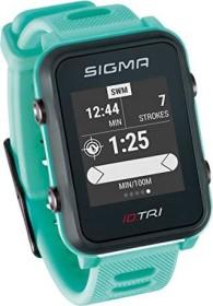 Sigma Sport iD.TRI inkl. Brustgurt und Geschwindigkeits-/Trittfrequenzsender neon mint (24270)