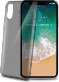 Celly Thin für Apple iPhone X schwarz (THIN900BK)