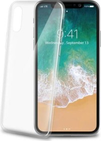 Celly Thin für Apple iPhone X transparent (THIN900WH)