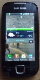 Samsung Galaxy 3 i5800 schwarz