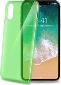Celly Thin für Apple iPhone X grün (THIN900LG)