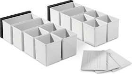 Festool systainer StorageBox inset box set, 17-piece. (201124)