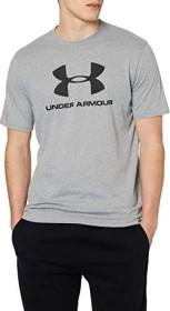 Under Armour Sportstyle Logo Shirt kurzarm rot (Herren) (1329590-600)