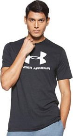 Under Armour Sportstyle Logo Shirt kurzarm schwarz (Herren) (1329590-001)