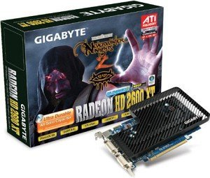 Gigabyte Radeon HD 2600 XT, 256MB DDR3, 2x DVI, TV-out (GV-RX26T256H)