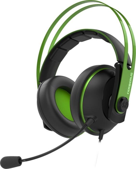 ASUS Cerberus V2 Headset schwarz/grün (90YH018G-B1UA00)