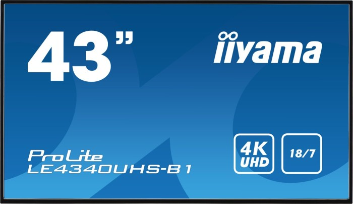 """iiyama ProLite LE4340UHS-B1, 43"""""""
