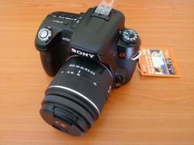 Sony Alpha 500 schwarz mit Objektiv AF 18-55mm 3.5-5.6 DT SAM (DSLR-A500L)