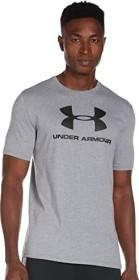 Under Armour Sportstyle Logo Shirt kurzarm grau (Herren) (1329590-036)