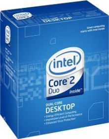 Intel Core 2 Duo E7400, 2x 2.80GHz, boxed (BX80571E7400)