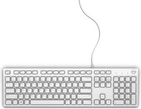 Dell KB216 Multimedia Keyboard weiß, USB, UK (580-ADHT)