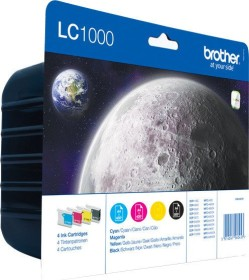 Brother ink LC1000 value pack (LC1000VALBPDR)