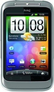 HTC Wildfire S silber weiß