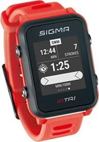 Sigma Sport iD.TRI inkl. Brustgurt und Geschwindigkeits-/Trittfrequenzsender rot (24280)