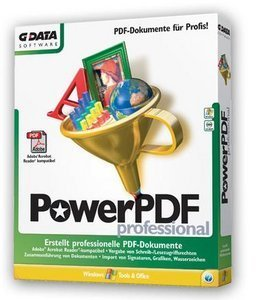 GData  Software: PowerPDF Professional (PC)
