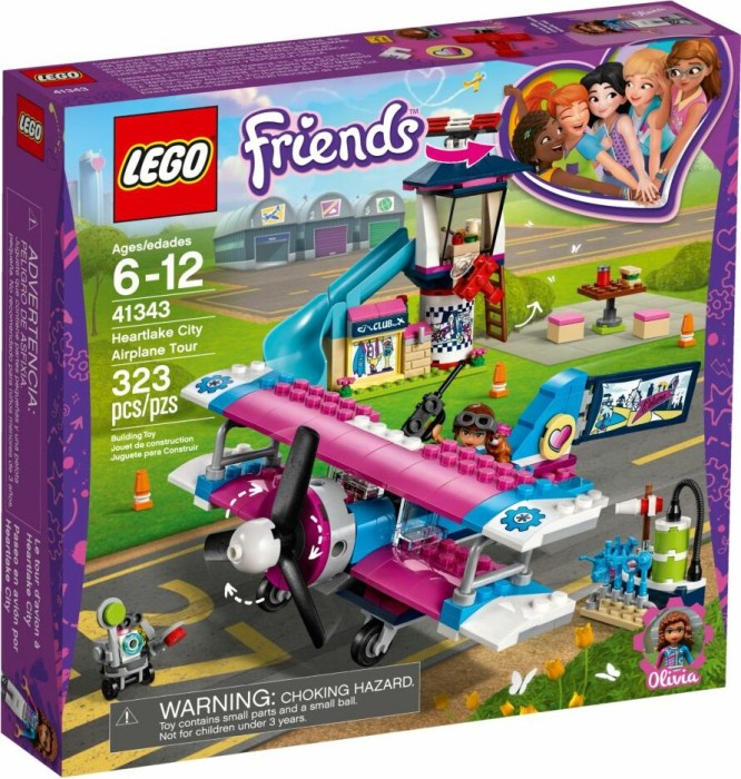 LEGO Friends - Heartlake City Airplane Tour (41343)