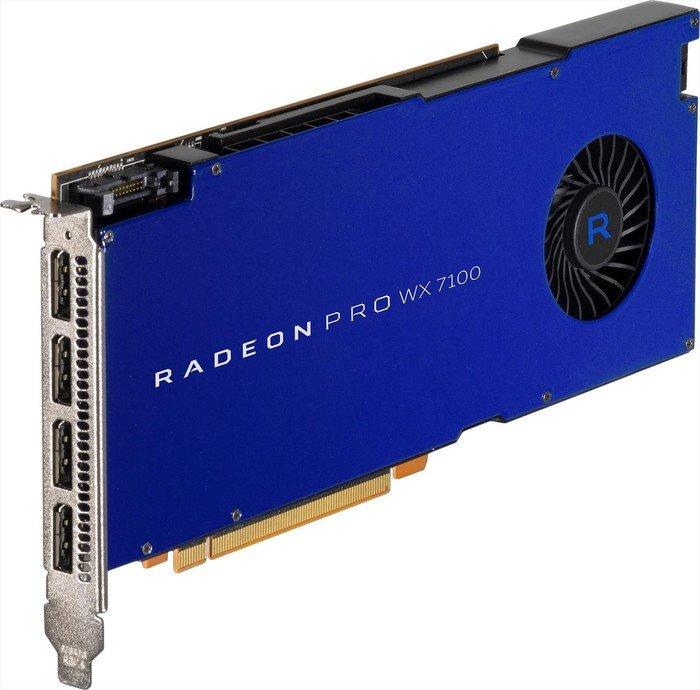 AMD Radeon Pro WX 7100, 8GB GDDR5, 4x DP (100-505826)