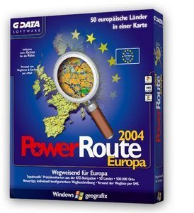 GData Software: Power Route 2004 Europa (PC)
