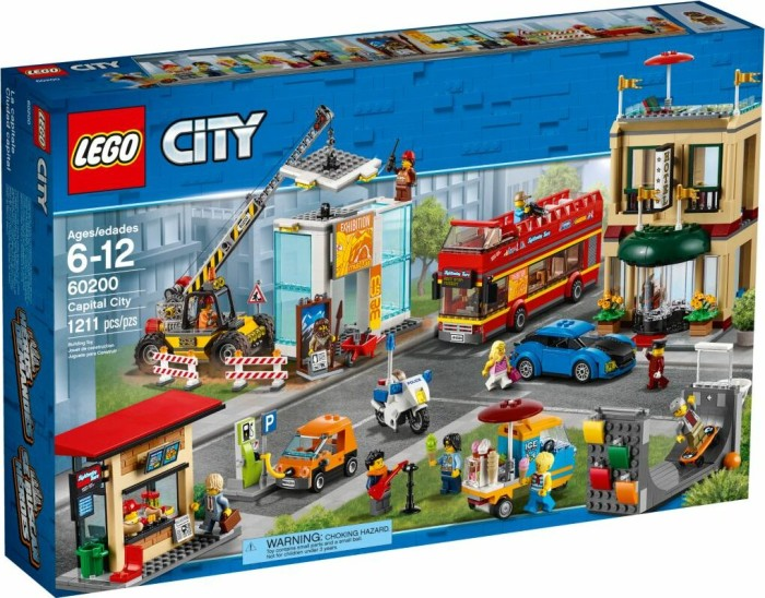 LEGO City - Capital City (60200)