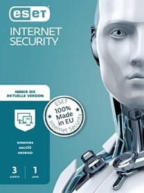 ESET Internet Security 2020, 3 User, 1 Jahr, PKC (deutsch) (EIS-N1A3-V13M)