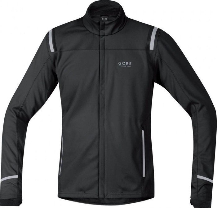 Gore Running Wear Mythos 2.0 Windstopper Soft Shell Laufjacke schwarz (Herren) (JWSMYM-9900)