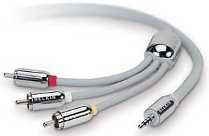 Belkin audio/video cable for iPod (F8Z030EA12-APL)