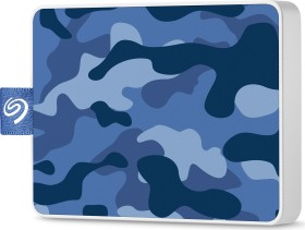 Seagate One Touch SSD Special Edition Camo Blue 500GB, USB 3.0 Micro-B (STJE500406)