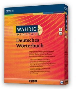GData software: Wahrig German dictionary (PC)