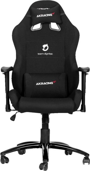 AKRacing Dignitas Pro Gamingstuhl, schwarz/weiß (AK-DIGNITAS-PRO-WT) -- via Amazon Partnerprogramm