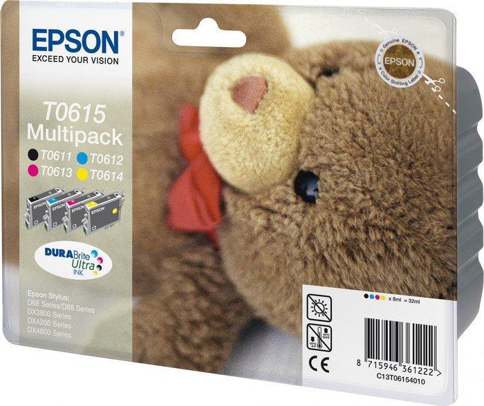 Epson T0615 Tinte Multipack (C13T06154010)