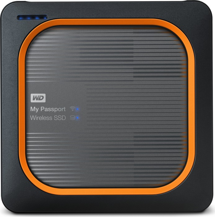 Western Digital WD My Passport Wireless SSD 1TB, USB 3.0 Micro-B/WLAN 802.11a/b/g/n/ac (WDBAMJ0010BGY)