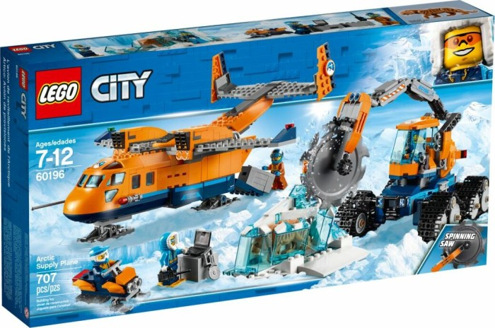lego city arctic expedition arctic supply plane 60196 starting